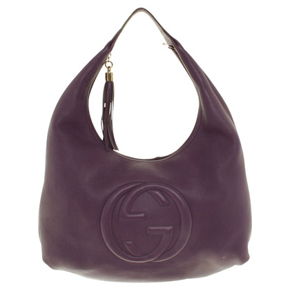 Gucci Handtas in purple