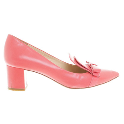Moschino Cheap and Chic Pantofola in corallo rosso