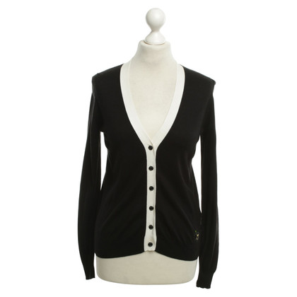 Armani Jeans Cardigan in Black