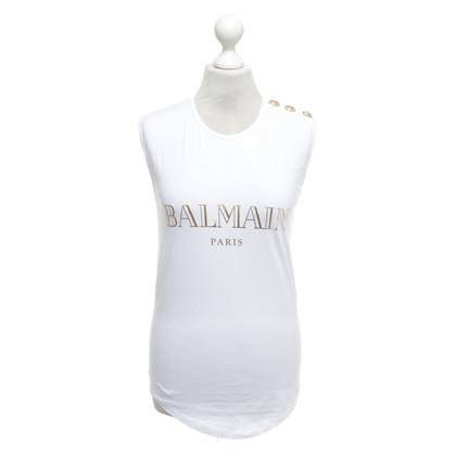Balmain Camicia con applicazione