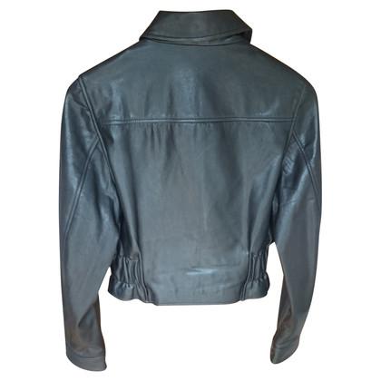 McQ Alexander McQueen giacca di pelle