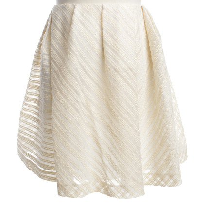 Thakoon skirt in cream