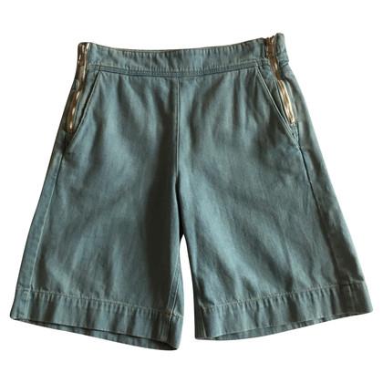 Chloé Pantaloncini in blu