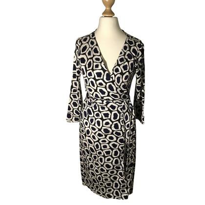Diane von Furstenberg Silk wrap dress, DVF 1974