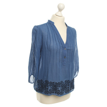Tibi top in blue