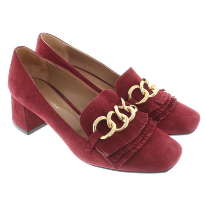 Konstantin Starke Suede pumps in red