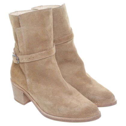 All Saints Light brown suede boots