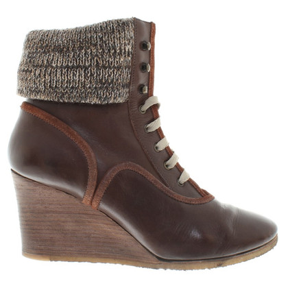 Chloé Ankle boots with wedge heel
