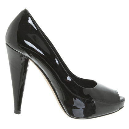 Bally Peep-tenen Patent Leather