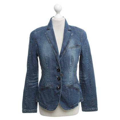 Marc Cain giacca di jeans in azzurro