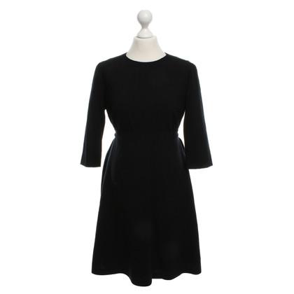 Hugo Boss Black wool dress with belt