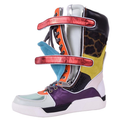 Dolce & Gabbana Stiefel in Multicolor
