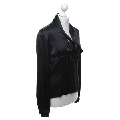 St. Emile Silk blouse in black