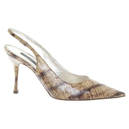 Dolce & Gabbana Sling-pumps in bicolor