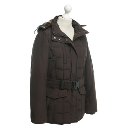Woolrich Parka in dark brown