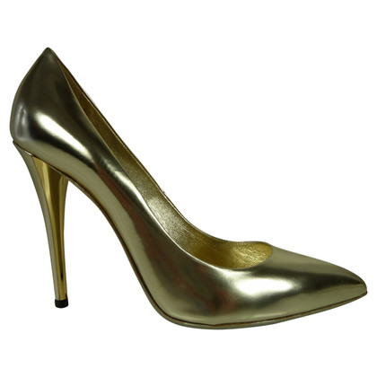 Yves Saint Laurent Gouden pumps