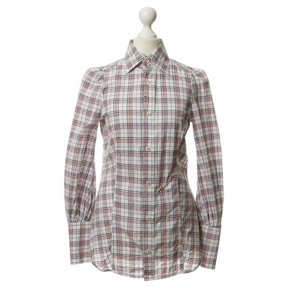 Dsquared2 Camicia in cotone con Plaid