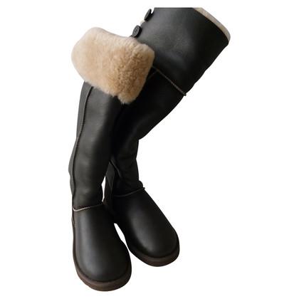 Ugg Overknee-Stiefel aus Leder