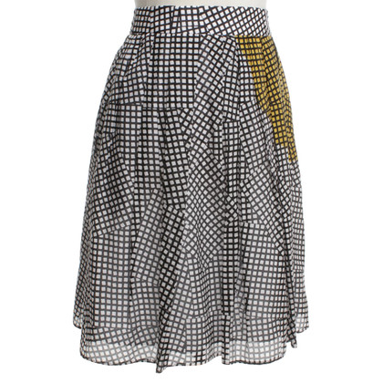 Paule Ka skirt with pattern