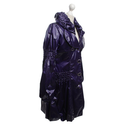 Just Cavalli Raincoat in Viola