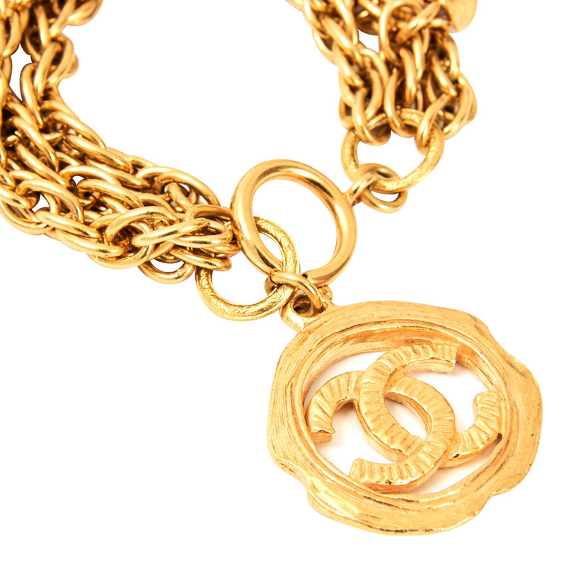 Chanel modeschmuck second hand