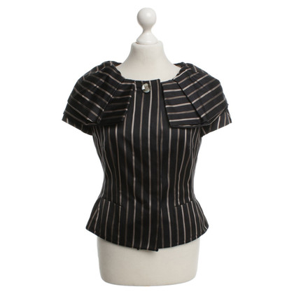 Rena Lange Striped top in black