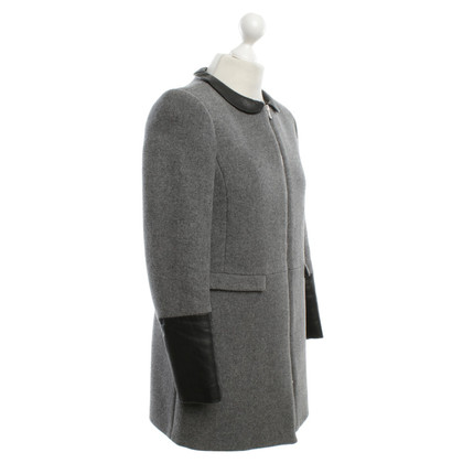 Claudie Pierlot Coat in grey