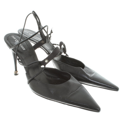 Sergio Rossi Sling-pumps en noir