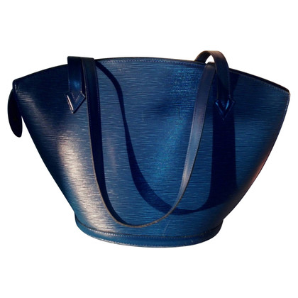 "Louis Vuitton ""St. Jacques EPI leather"" in blu"