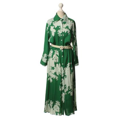 Alice + Olivia zijden jurk met riem