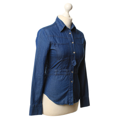 Acne Camicia in denim blu