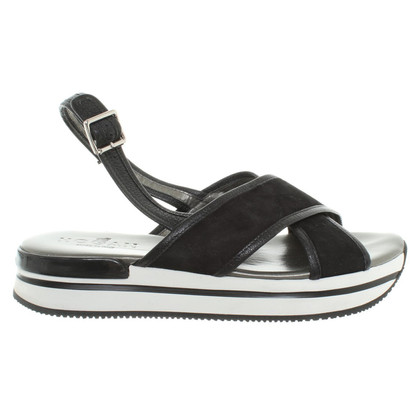 Hogan Sandals with platform