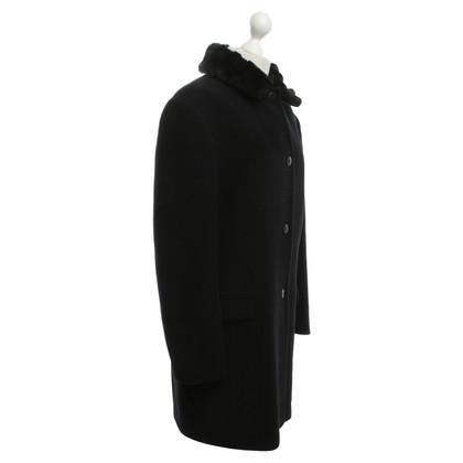 Versace Winter coat in black