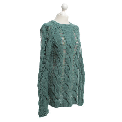 Carven Gebreide trui in groen