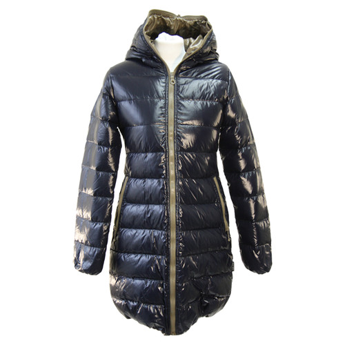 low priced 8415a afba2 Duvetica Jacke/Mantel in Blau - Second Hand Duvetica Jacke ...