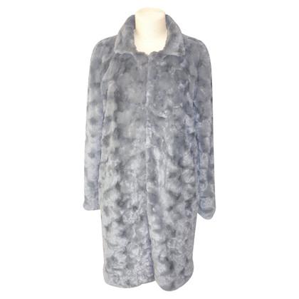 Steffen Schraut Faux fur coat in grey
