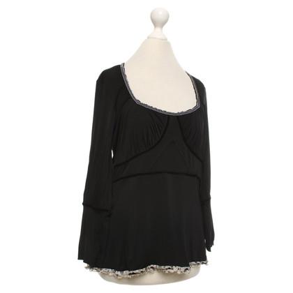 Just Cavalli top in black