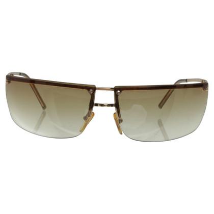 Gucci occhiali da sole color oro
