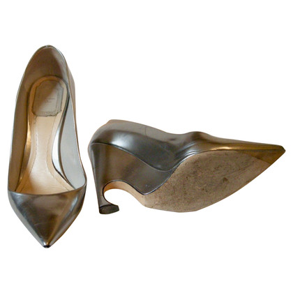 Christian Dior Silver colored pumps