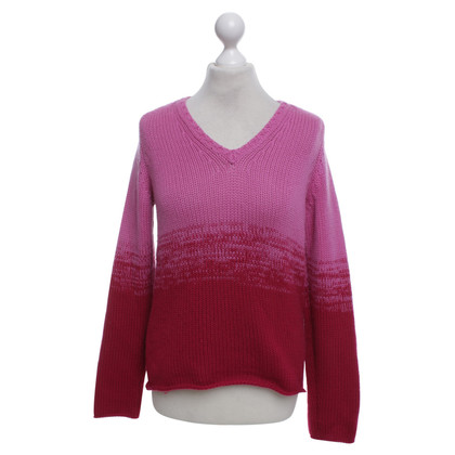 Jil Sander Knitted pullover in fuchsia