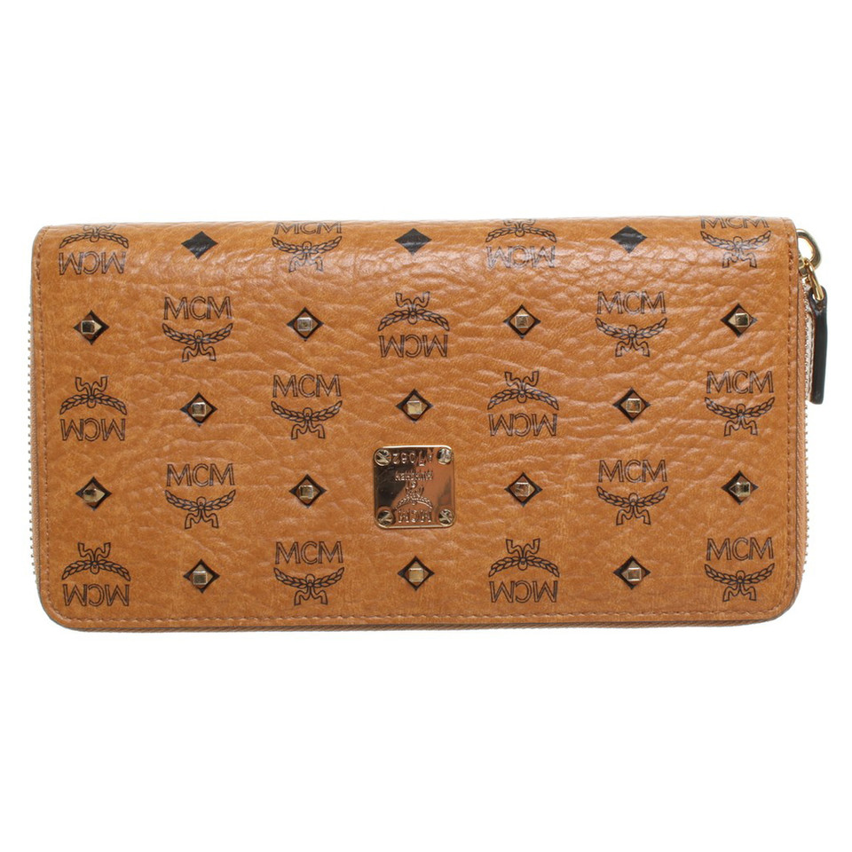 MCM Wallet in leather look