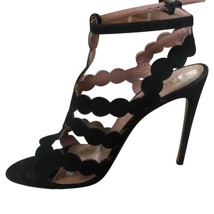 Alaïa sandali in camoscio