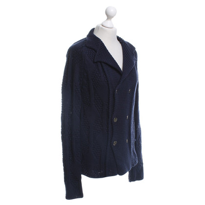 Roberto Cavalli Strickjacke in Blau
