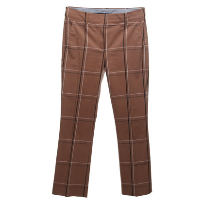 Sport Max trousers with checked pattern
