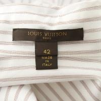 Louis Vuitton Chemisier à rayures
