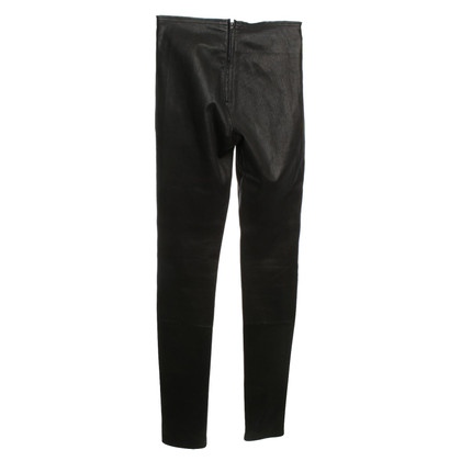 Utzon Leather pants in black