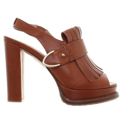 Twin-Set Simona Barbieri Fox-gekleurde sandalen