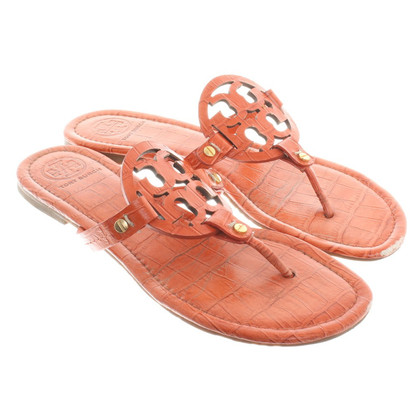 Tory Burch Toe Separator in Orange