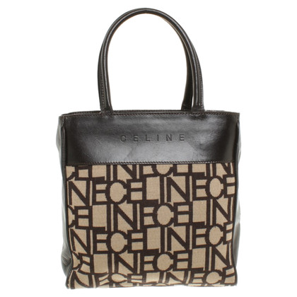 Céline Handbag with logo pattern