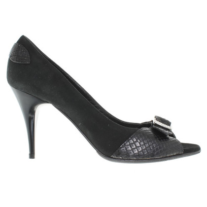 Casadei Peep-toes in black